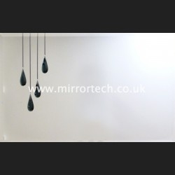 MT20 Black Quad Teardrop Mirror