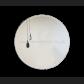 MT25 Black Clear Duo Teardrops Mirror