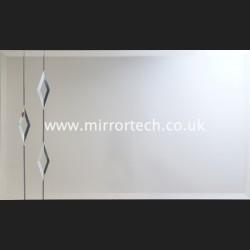 MT 72 Trio Diamond Lead Clear On Mirror