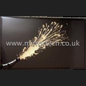 MTB-53 Champagne Gold Glitter On Black