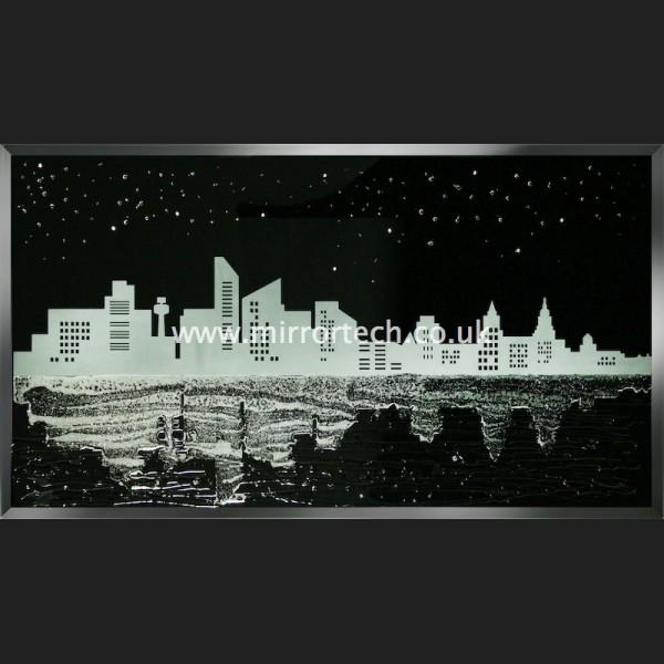 Mtb307 liverpool skyline on black for Mirror liverpool
