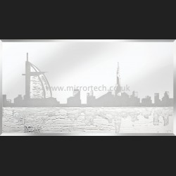 MT-310 Dubai Skyline On Mirror