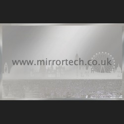 MT-314 London Skyline On Mirror