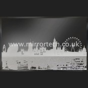 MTB-313 London Skyline On Black