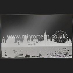 MTB-313 London Skyline On Black